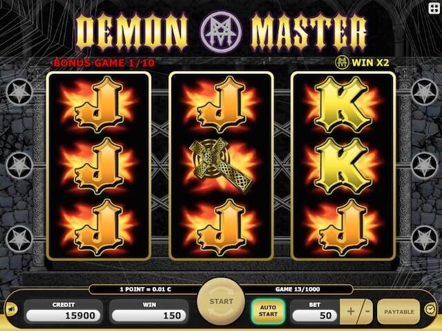 Bonus hra v Demon Master