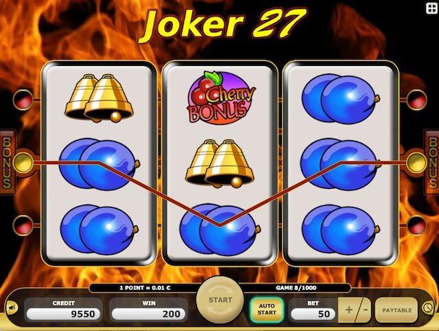 Kajot automaty Joker 27