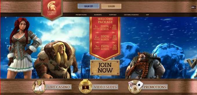 Online casino Bronze pro české hráče!
