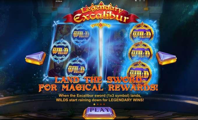 Legendary Excalibur automat