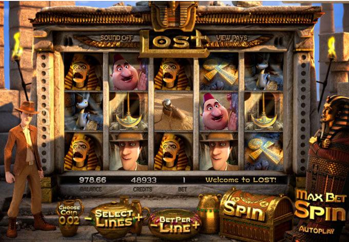 automaty zdarma Lost