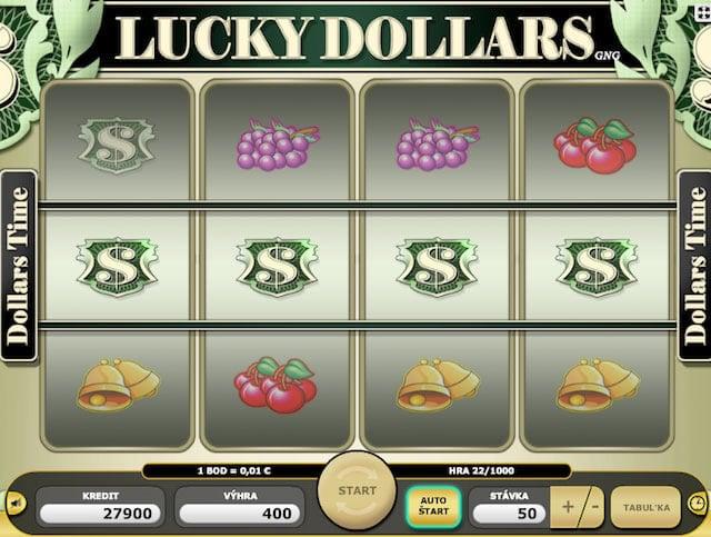 Hrací automaty Lucky Dollars
