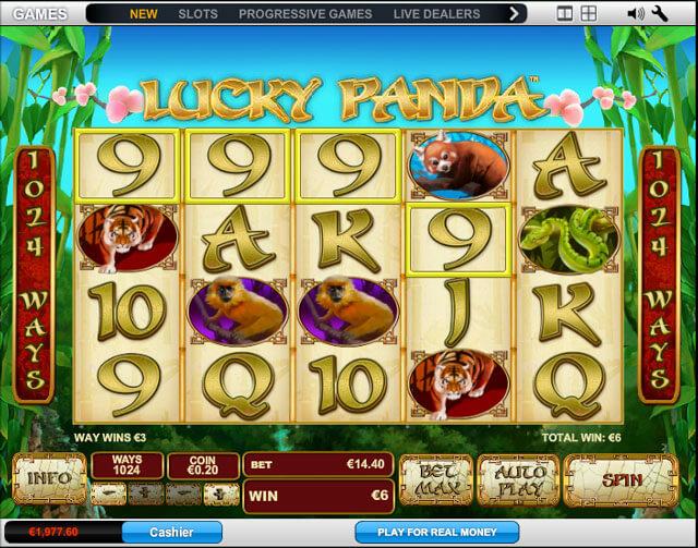 Automat Lucky Panda