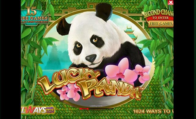Není roztomilá Lucky Panda?