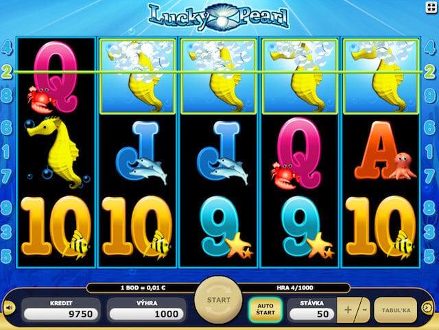 Lucky Pearl zdarma casino hra
