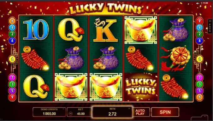 lucky twins - bonus