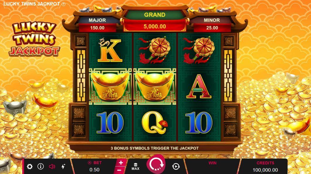 Lucky Twins Jackpot casino hra