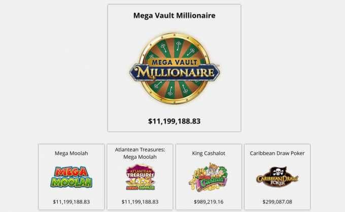 Zodiac casino a jeho progresivní Jackpoty