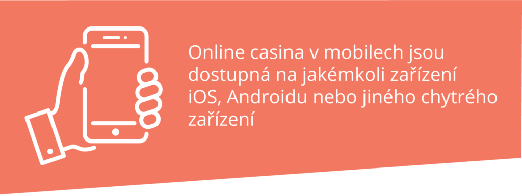 Online casina v mobilech