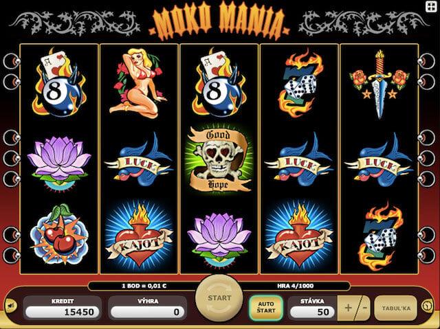 Automaty zdarma Mako Mania