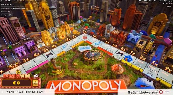 Vyzkoušej si casino Monopoly s legendarními výhrami