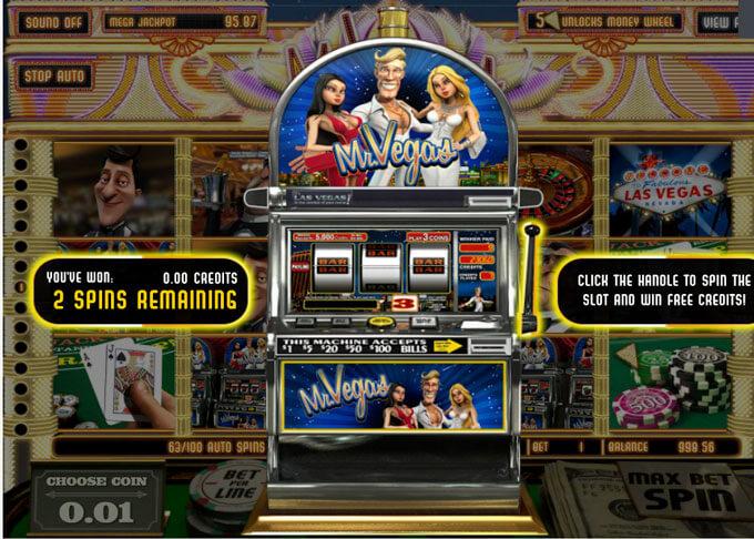 Mr Vegas neboli automat zdarma