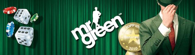 Jedno z nejlepších kasin na internetu Mr Green!