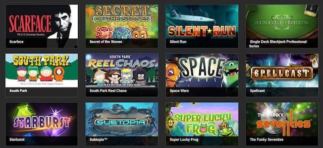 Široký výběr těch nejlepších online her od vývojářů NetEnt!