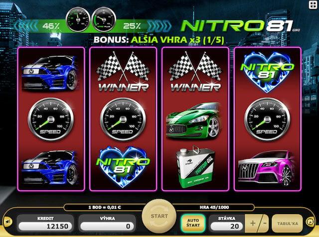Nitro81 online casino bonusy