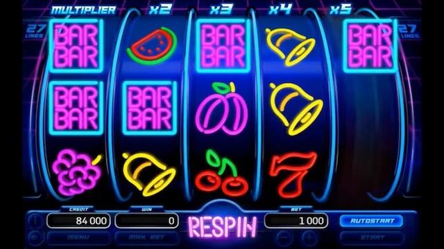 Herní automat Neon Fruits od Kajot vývojáře