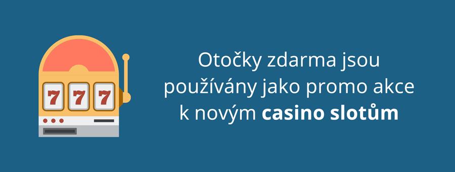 Free spins ke casino slotům zdarma