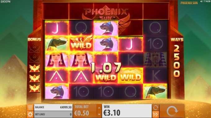 Herní automat Phoenix Sun