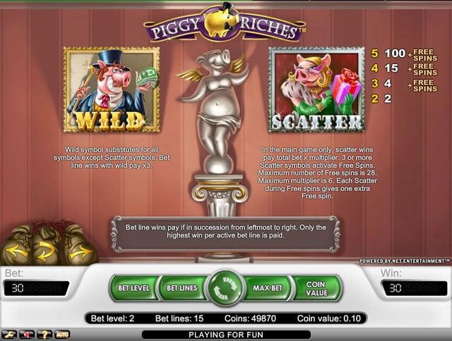 Piggy Riches casino hra