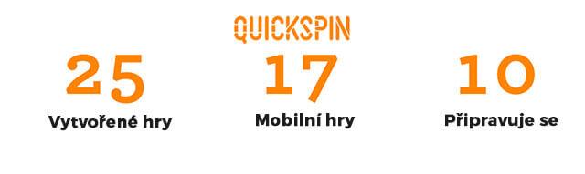 Quickspin a jeho výherní automaty zdarma