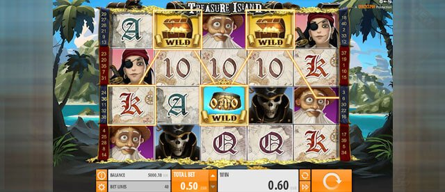 Herní automat Treasure Huntere od Quickspin