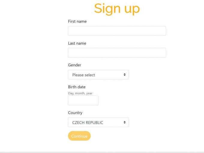 Jak se zaregistrovat v Playzee