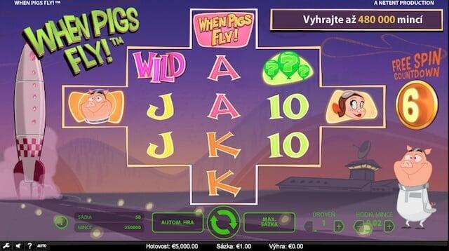Zajímavá online hra od vývojářů When Pigs Fly!