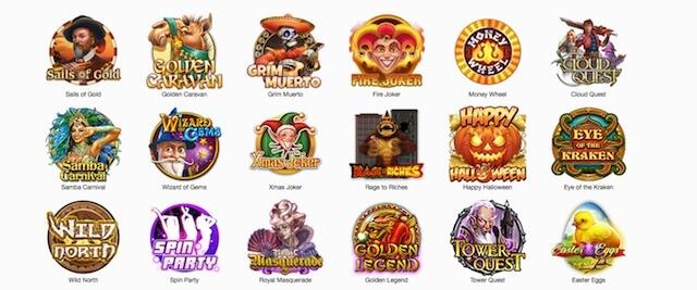 Hrací automaty zdarma od herních vývojářů Play'n GO.