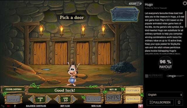 Herní automat Hugo a jeho bonusové vylepšení