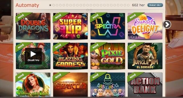 Zahraj si online automaty v Leo Vegas