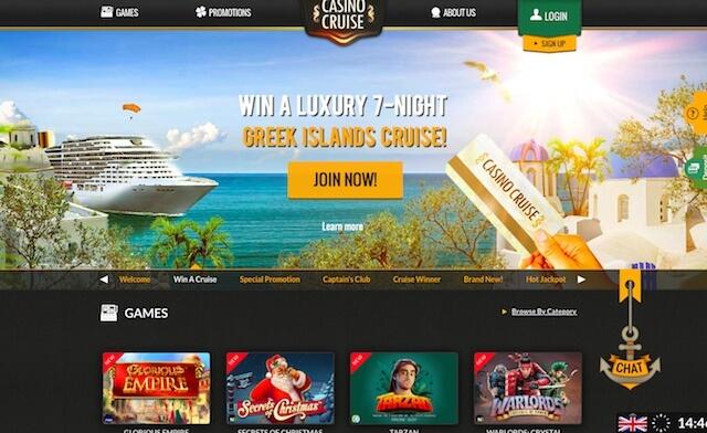 Online Casino Cruise pro hráče z ČR