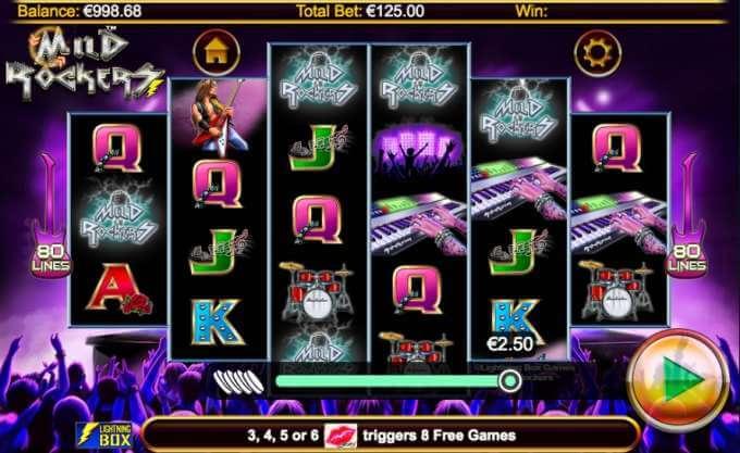 Vyzkoušej si herní automat Mild Rockers