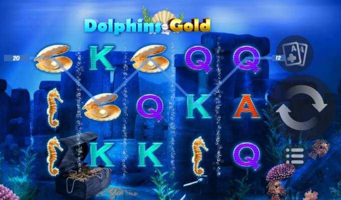 Dolphins Gold herní automat zdarma
