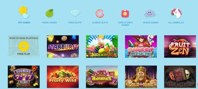 Online casino ReelTastic nabízí neuvěřitelné casino hry