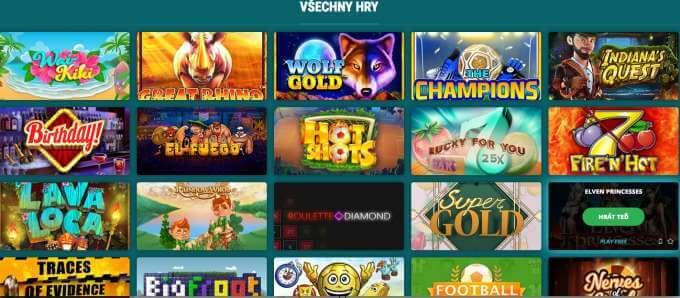 Casino automaty v 22 Bet