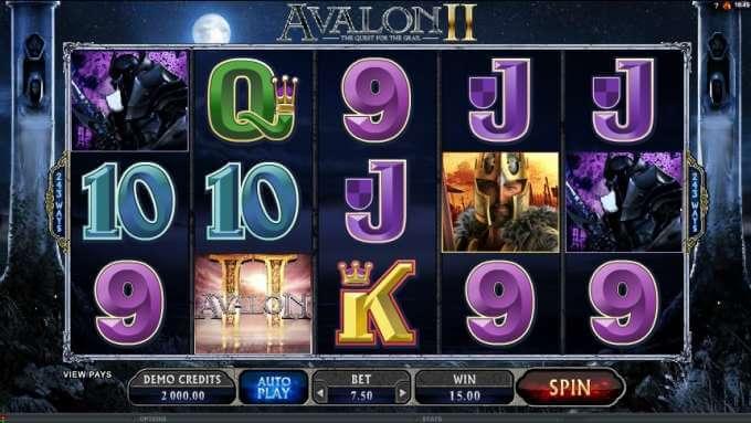 Avalon 2 casino hra