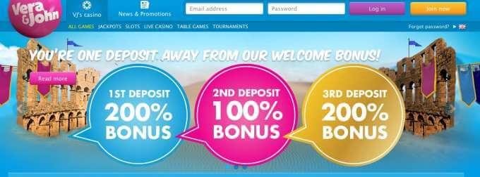 Online casino Vera&John