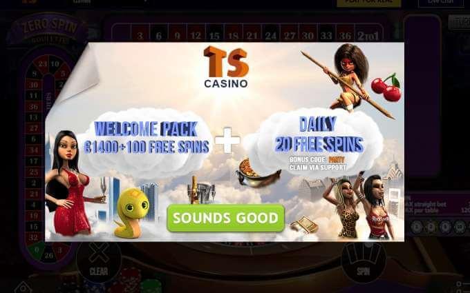 Online casino TS a jeho bonusy!