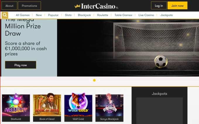 Intercasino pro milovníky hazardu