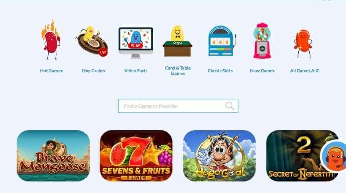 vyzkoušej si online casino Jelly Beans