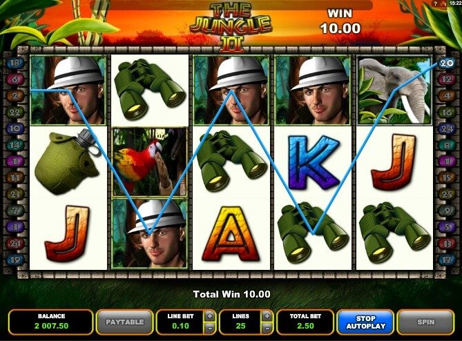 The Jungle 2 casino hra