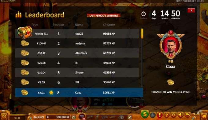 Max Quest: Wrath of Ra neboli herní automat