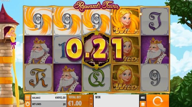 Repunzel's Tower herní automat