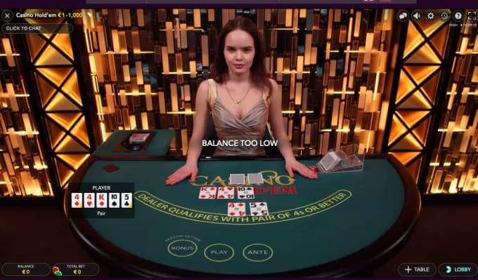Malina casino nabízí casinoa utomaty live