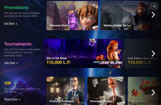 Online casino bonusy v Buran casinu