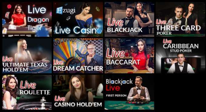 Live casino automaty v Librabet casinu
