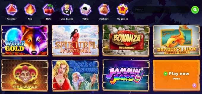 Wazamba casino nabízí živé hry, video automaty, Jackpotové hry a další