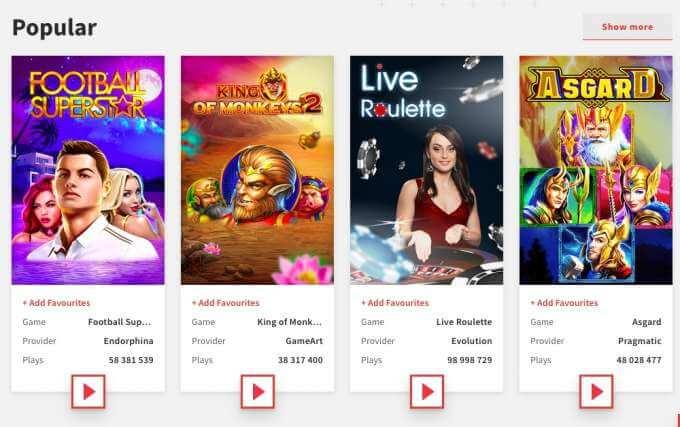Populární casino hry 2019 v nejlepší casinu Zulabet