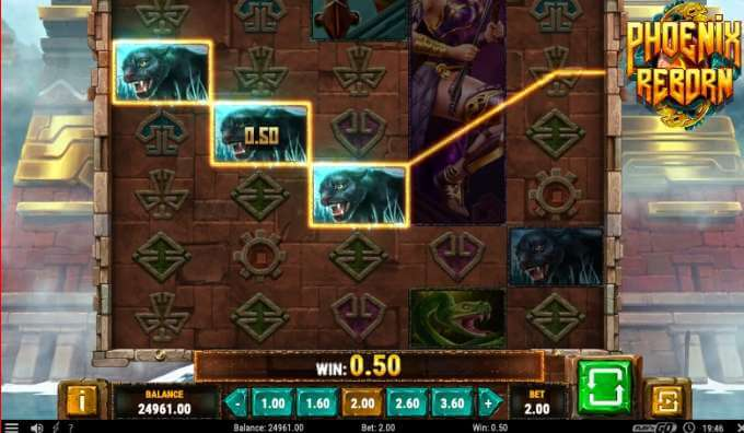 Nádherný herní online casino automat Phoenix Reborn od Play'n GO