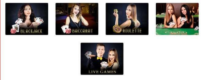 Dingo Casino a jeho živé hry